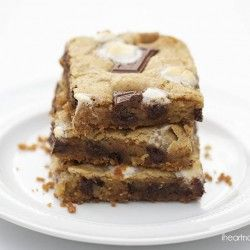 S'mores bars on iheartnaptime.com