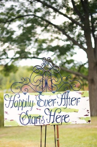 Handmade Wedding Signs