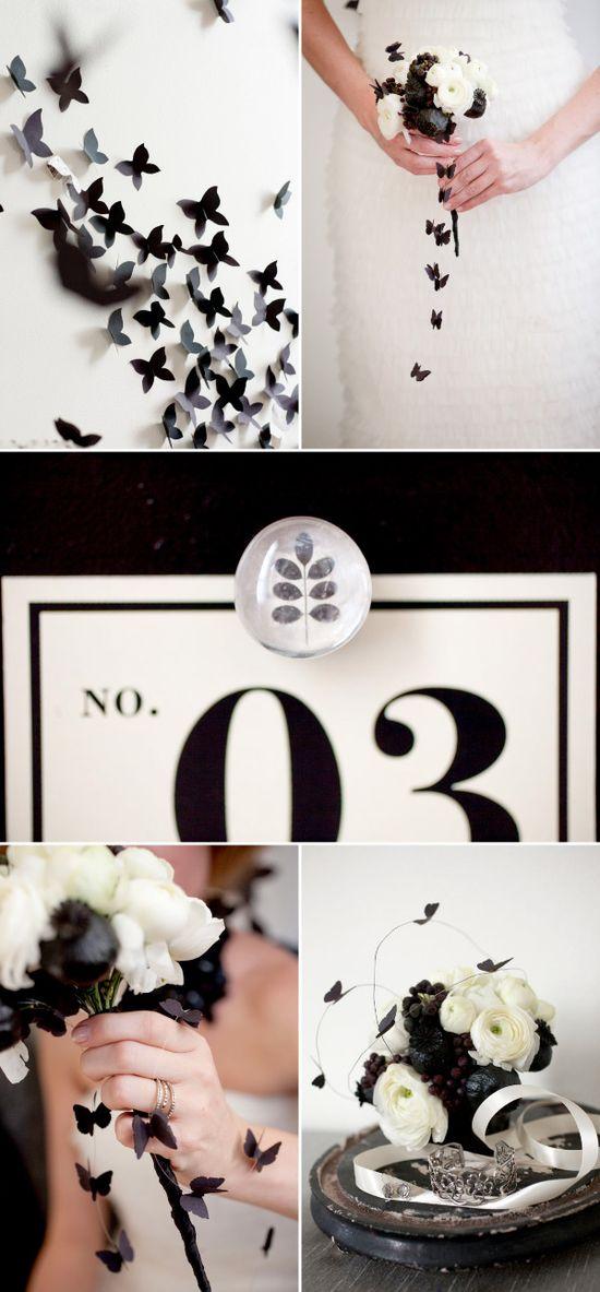 Black and White #weddings