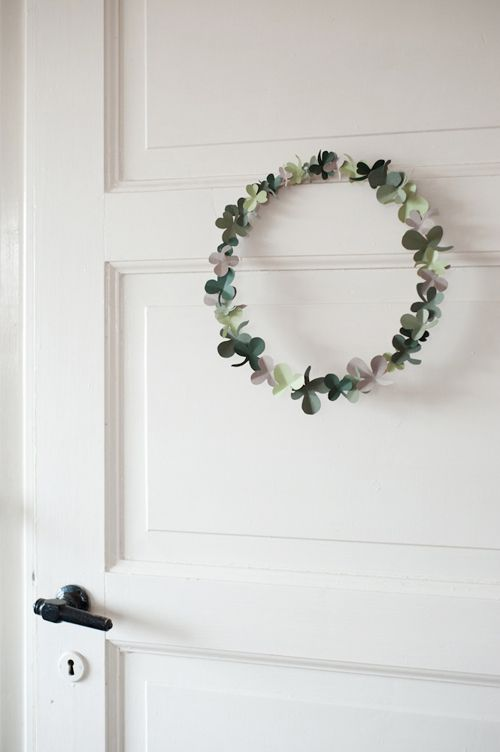 Shamrock Wreath from The House that Lars Built.