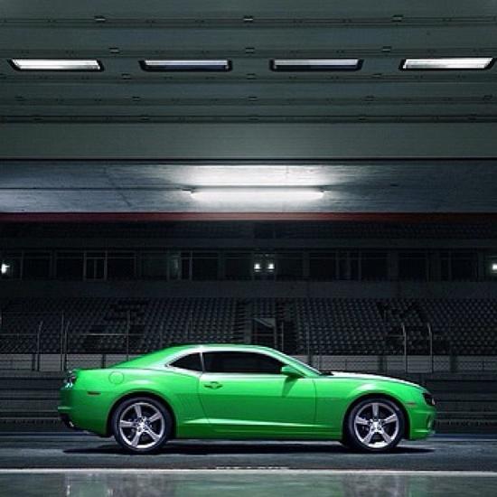 Chevrolet camaro green?  do you like it?