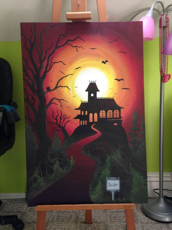 Halloween art #painting