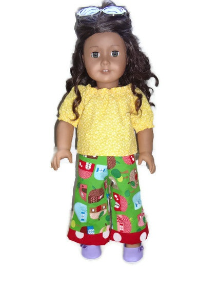 American Girl Doll Clothes Matching Doll Dress Doll by SewShellz
