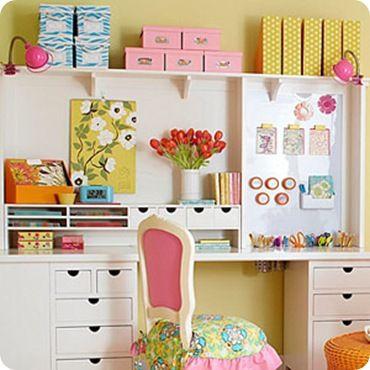 craft room, organize, hobi
