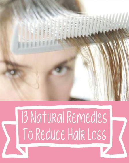 13 Natural Remedies To Reduce Hair Loss