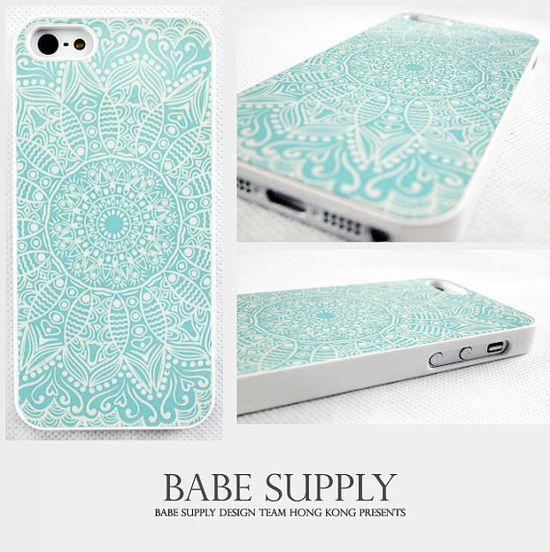 Mandala  iphone 4 case iphone 4s case iphone 5 case by BabeSupply, $7.99