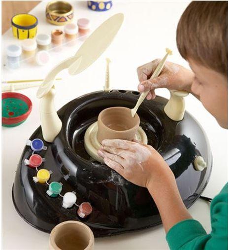 Kid's Pottery Wheel, $80