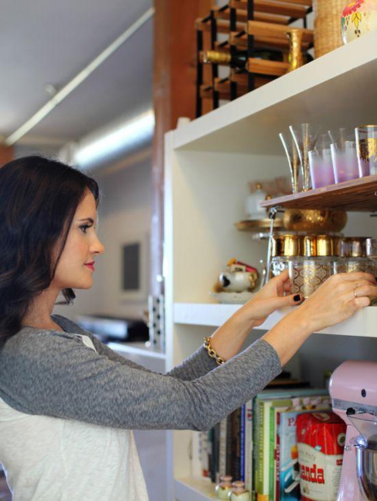 The charm vintage details in the kitchen. #charm #color #kitchen #interior #design #decor #casadevalentina