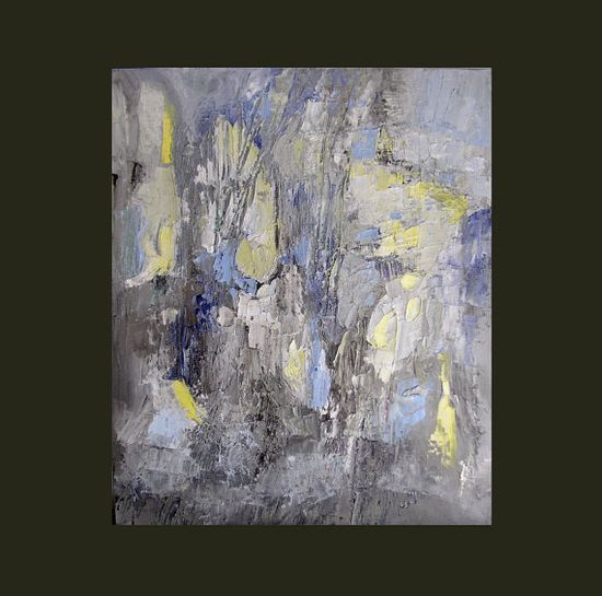 Painting on offer original abstract landscape small by Mossmottle, $60.00
