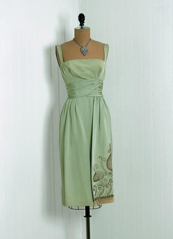 Cocktail Dress, Jean Allen, 1950s.