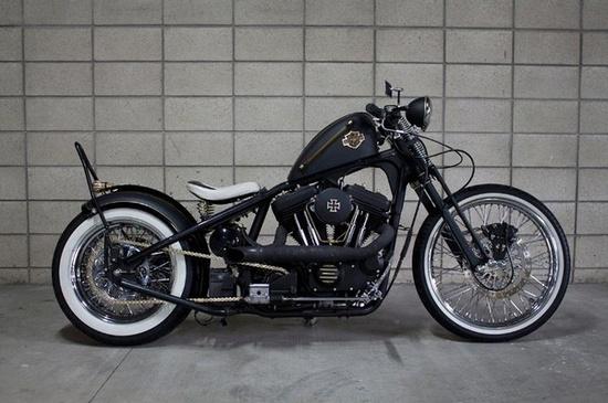 Harley-Davidson XLH-1200C Bobber Motorcycle