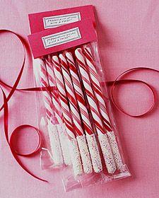 Candy Sticks recipe for Christmas.