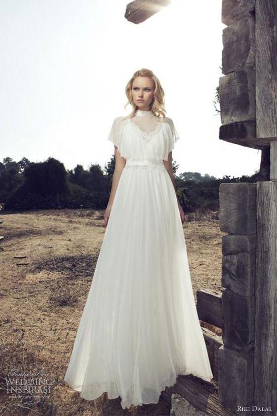 riki dalal 2013 romantic wedding dress
