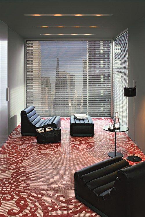 Marcel Wanders embroidered floor treatment