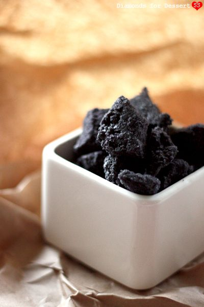 Sweet Coal candy recipe for the holidays (almond rock candy)