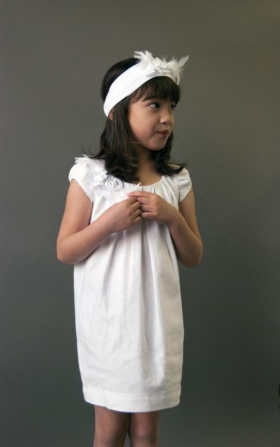 Linen Flower Girl Dress - Etsy.