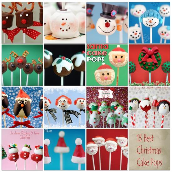 15 Best Christmas Cake Pops