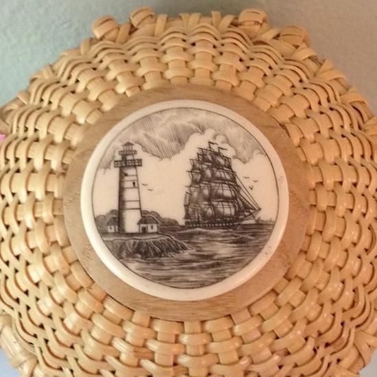 The top of my Nantucket basket