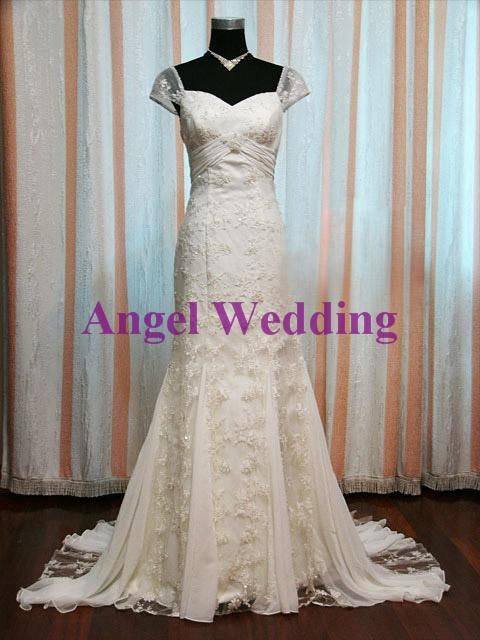 Custom Wedding Dress Vintage Wedding Dress by AngelWeddingDress, $298.00