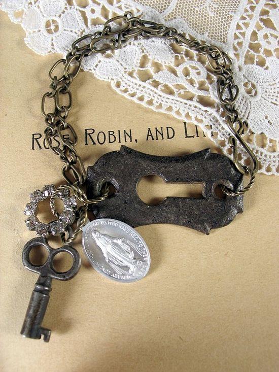 key and keyhole bracelet