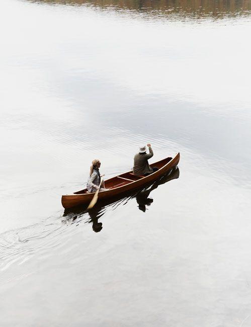 canoeing.