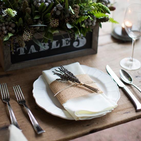 Burlap Ribbon (10yds) |#pressedcotton #burlap #napkinwraps #wedding
