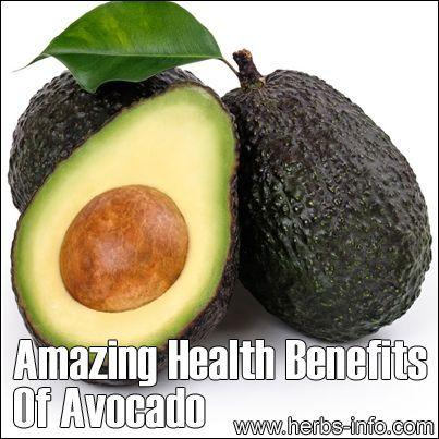 ? Amazing Health Benefits of Avocado ?