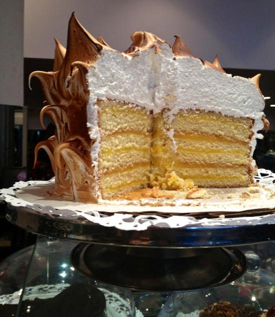 Lemon Meringue cake at E.A.T. , NYC.