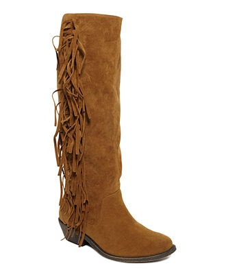 Material Girl #shoes #boots #fringe #macys BUY NOW!