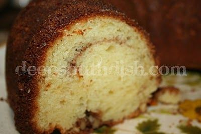 Deep South Dish: Sour Cream Coffee Cake
