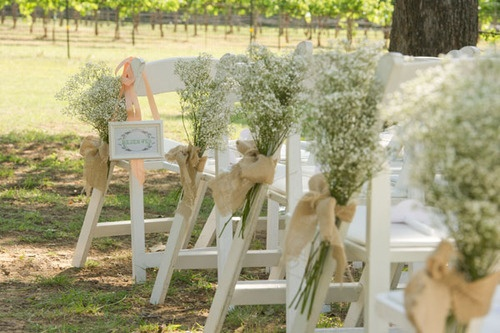 Garden #wedding #decor