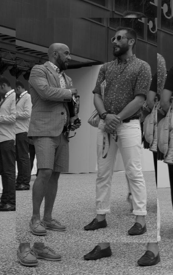 Men fashion show Madrid....