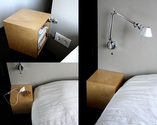 cube nightstands
