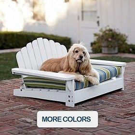 adirondack pet bed