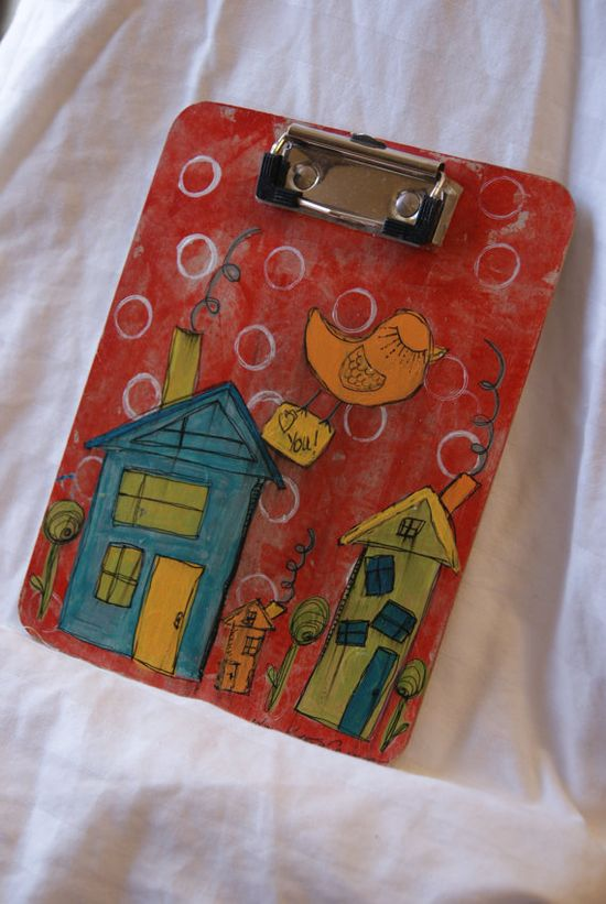 How cute is this little clipboard?  It's only $10...I want it...I must have it!