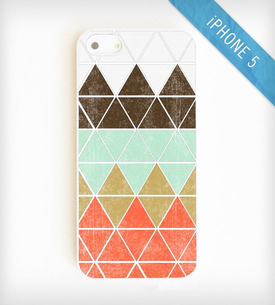 Geometric Mountain iPhone 5 Case
