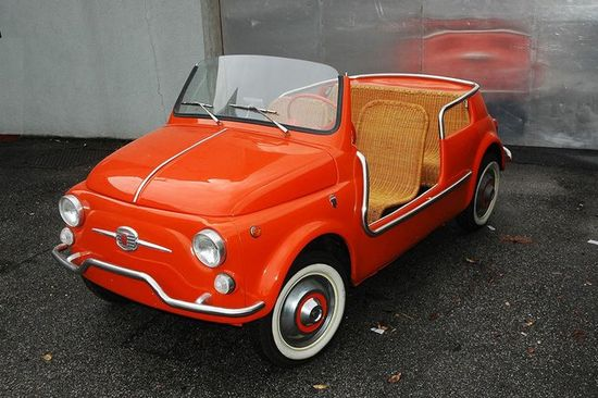 1963 Fiat 500D Jolly Beach Car