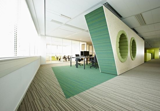 2012: CTAC innovative office - 's-Hertogenbosh by M+R interior architecture , via Behance