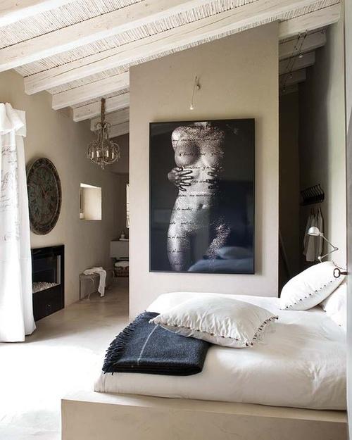 Shabby Chic Style Interior Designed Bedroom