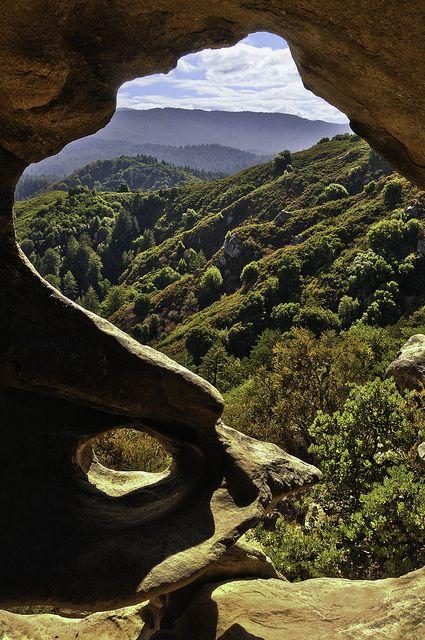 Castle Rock Park    Saratoga Valley, California.