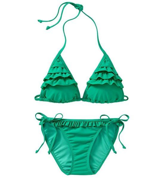 ruffle bikini