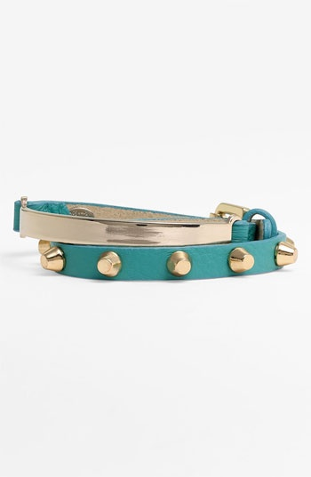 Cara Leather Wrap Bracelet