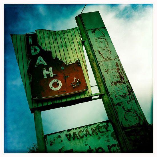 Idaho sign