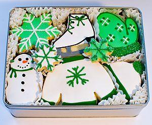 Winter Wonderland Decorated Cookies
