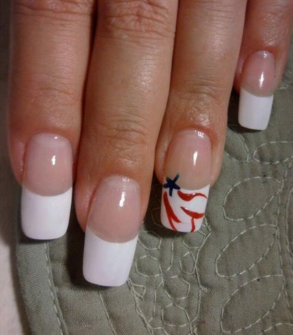 freedom - Nail Art Gallery by NAILS Magazine