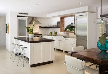 Relaxed modern kitchen design