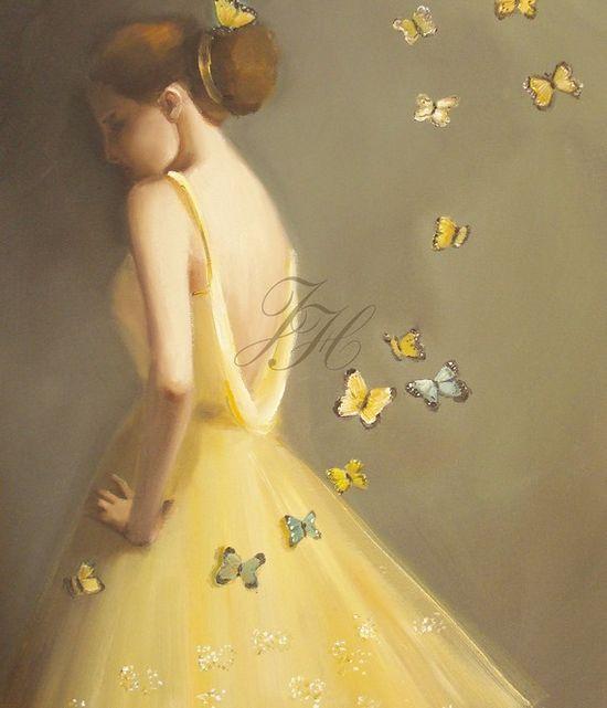little wings  by janet hill studio