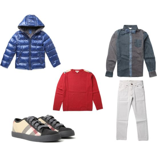 Kids Outfit - www.massaboutique... #burberry