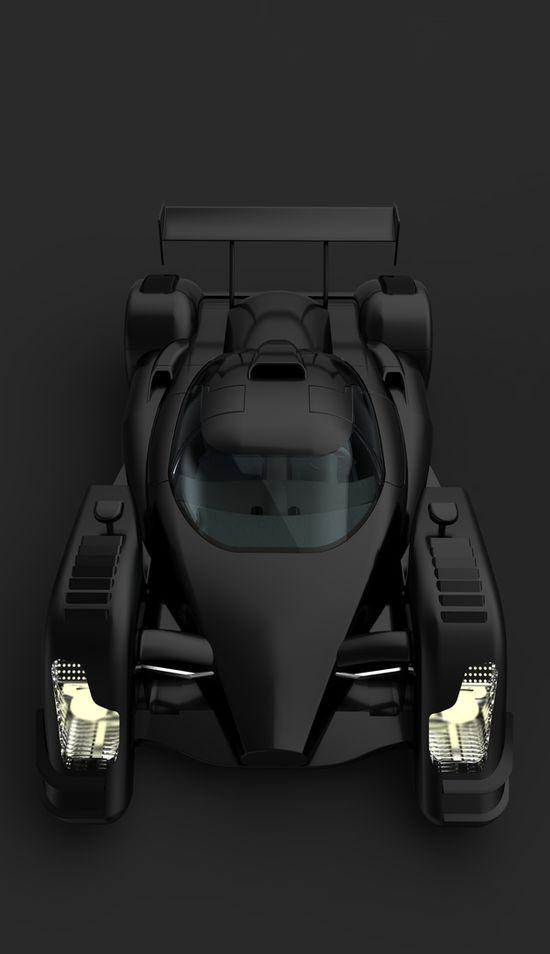 Kinetia LMX Concept sports Car