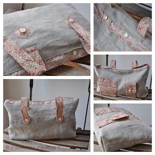 DIY::Old shirt Toiletry Bag